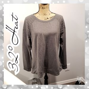 Top large sweatshirt tee quilted shirt blouse warm